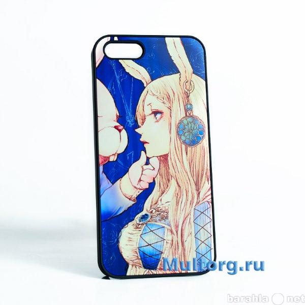 """Продам Накладка на iPhone 5/5S """"Алиса&amp"""
