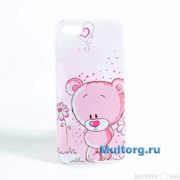 Продам Накладка на iPhone Розовый Мишка