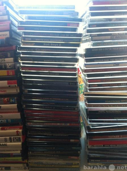 Продам Больше кол-во CD и DVD дисков с играми,