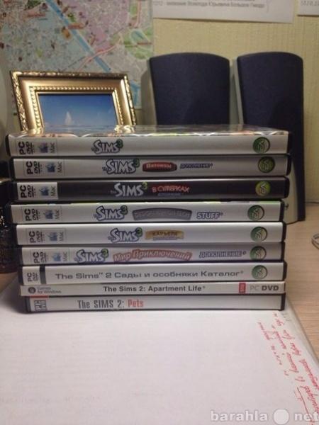 Продам Набор игр Sims 3 + Sims 2 в подарок!