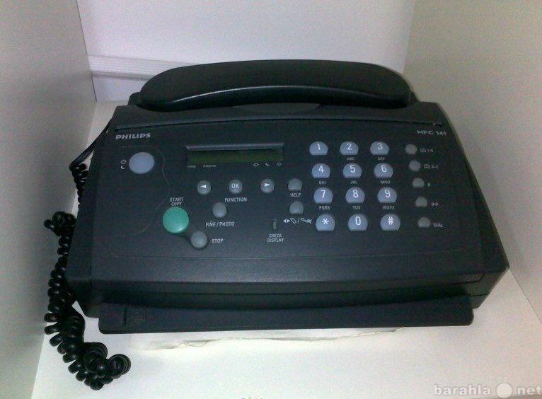 Продам: Факс PHILIPS HFC141