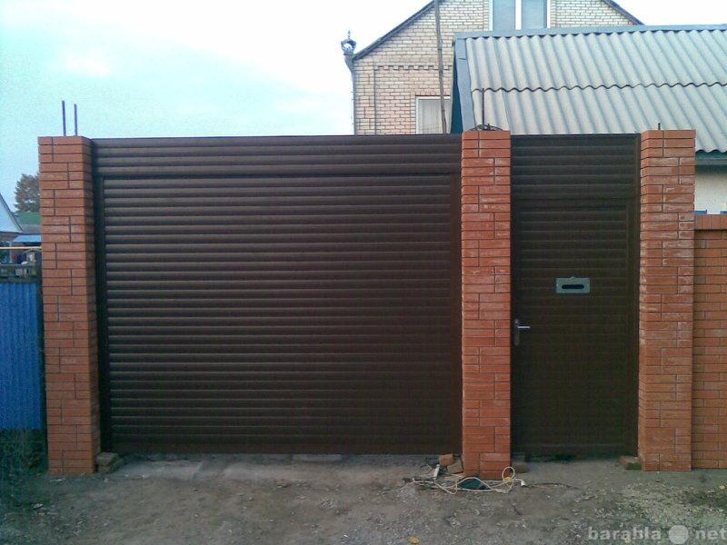 Продам: Ворота секционные, распашные, откатные