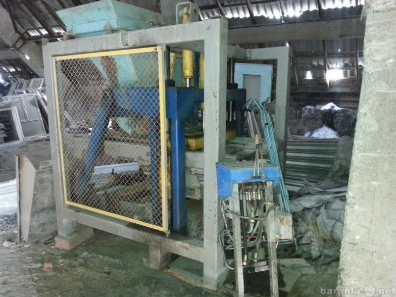 Продам станки по производству шлакоблоков