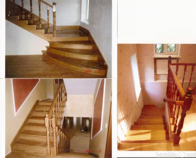 Продам Лестницы из дерева в Москве,