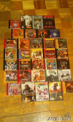 Продам Продаю диски с PC играми (объявление 1)