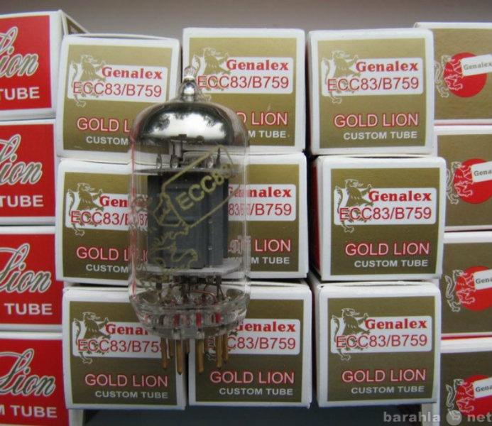Продам Радиолампы ECC83 Genalex Gold Lion