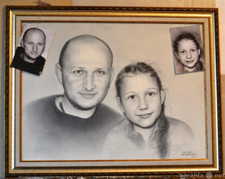 Продам Портрет маслом по фото на заказ