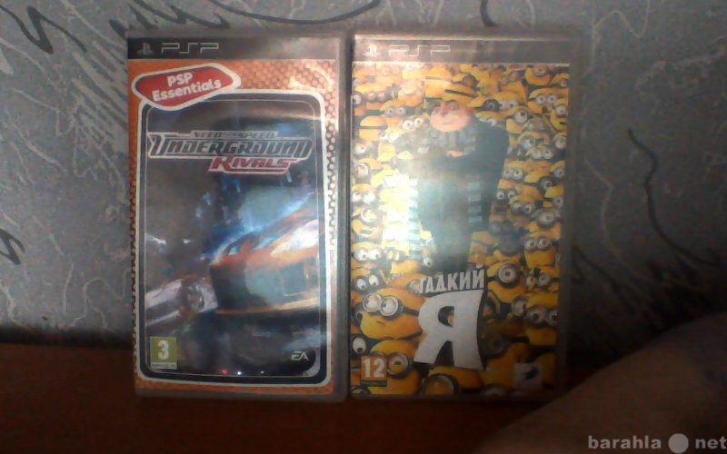 Продам Продам две игры для PSP в Тюмени