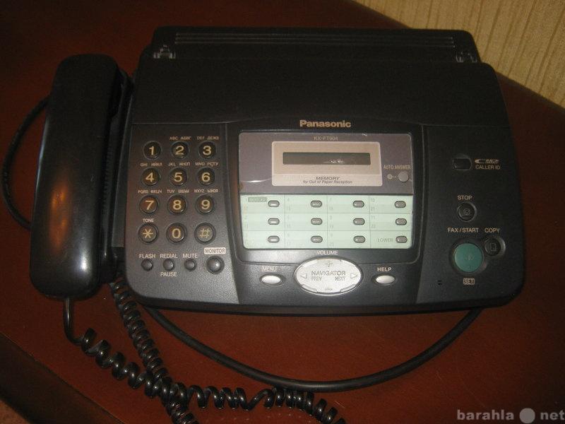 Продам: Факс Panasonic KX-FT904RU