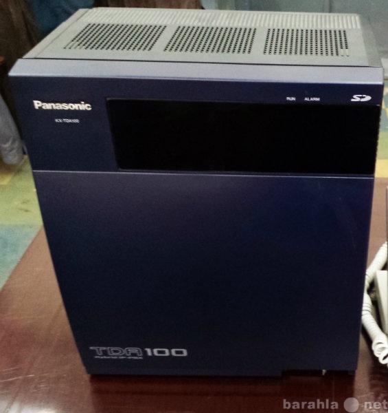 Продам АТС Panasonic KX-TDA100