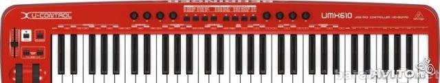 Продам Миди-клавиатура Behringer U-Control UMX6