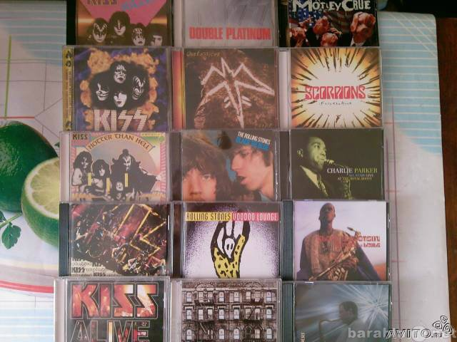 Продам: Продам фирменные CD
