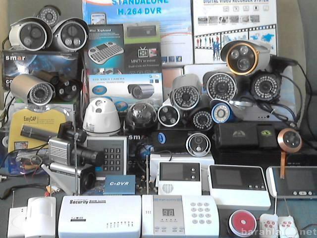 Продам: системы охраны и видеонаблюдения