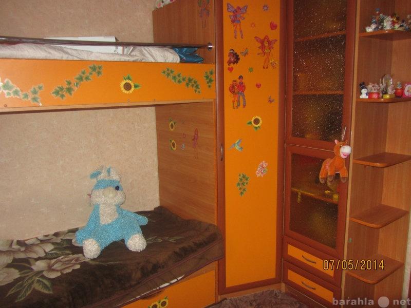 Продам 2-х ярусная кровать  с угловым шкафом
