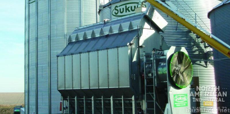 Продам: Зерносушилка Sukup с одним вентилятором:
