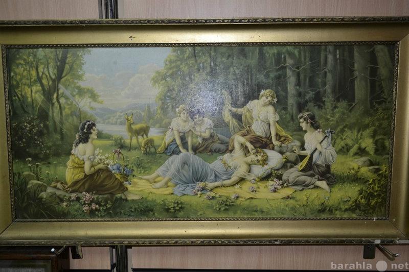 Продам Репродукция картины Hans Zatzka (Zabater