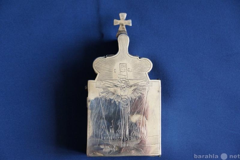 Продам Старинная серебряная Дароносица. 1854 г.