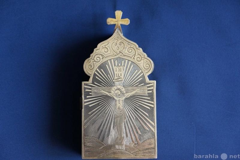 Продам: Старинная серебряная Дароносица. 1888 г.