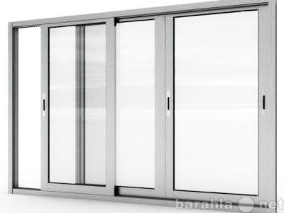 Продам балконную  остекленную раму из аллюминия