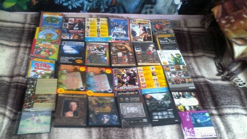 Продам: диски двд и комп игры