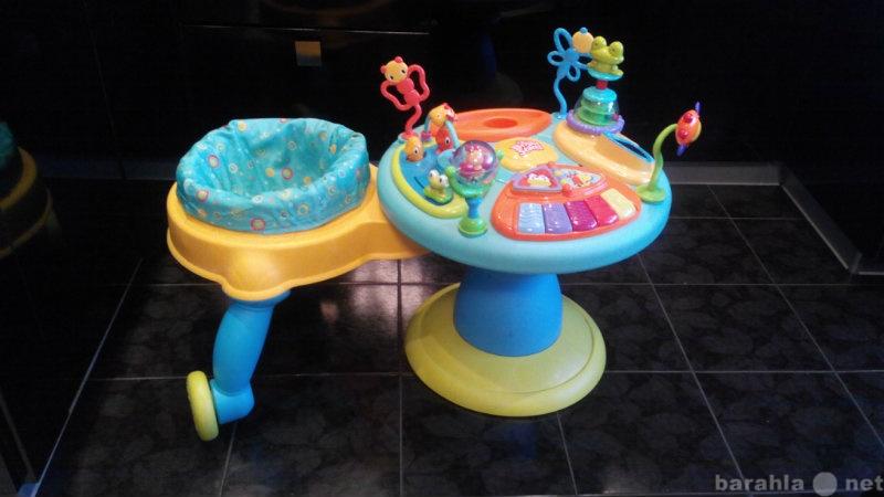 Продам игровой стол с ходунками