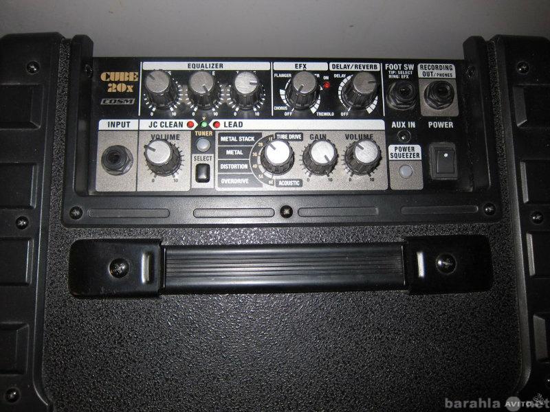 Продам Комбик гитарный ROLAND CUBE-20X