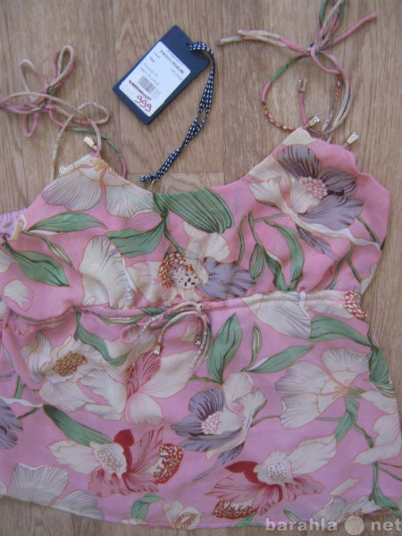 Продам Топ майка розовая НОВЫЙ размер 44, 46.