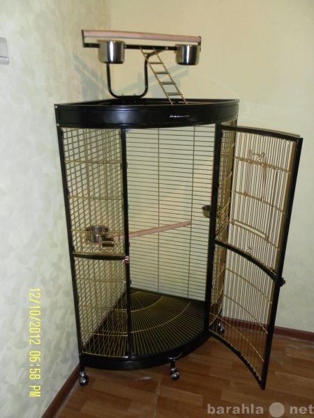 Продам Вольер для крупных птиц 94х63х160 см