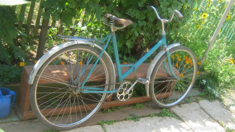 Продам: Поддержанный складной велосипед
