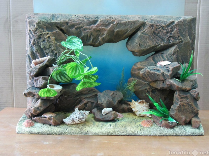 Продам Рельефные объемные фоны для аквариума 3D