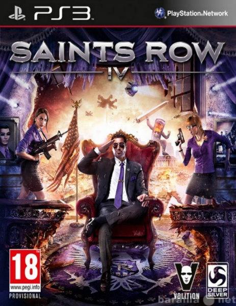 Продам: Saints Row 4 (PS3)