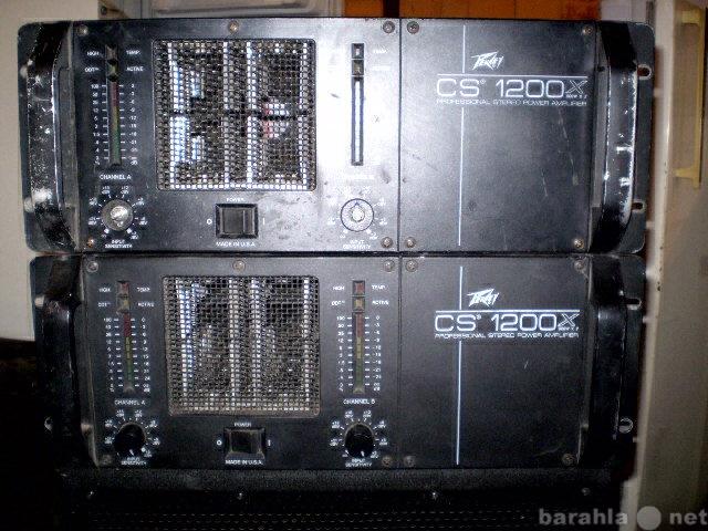 Продам Усилитель Peavey CS 1200X (made in USA!)