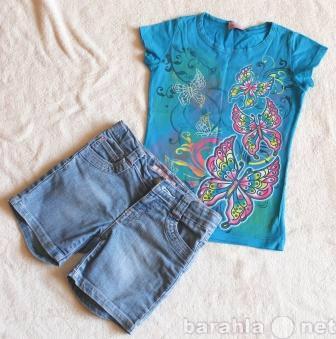 Продам: Футболка+джинсовые шорты