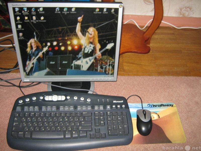 Продам Клавиатура Microsoft + мышь Genius