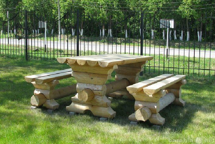 Продам Мебель садовая из бревна