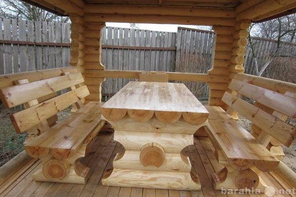 Продам Мебель загородная из бревна