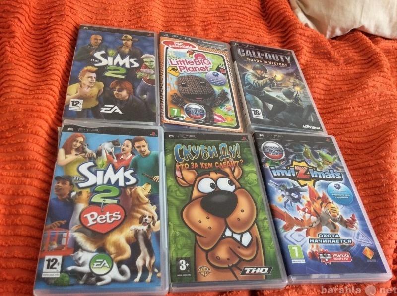 Продам: Игры на PSP