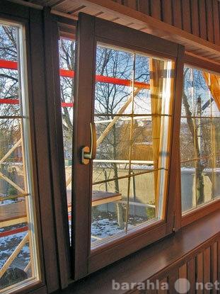 Продам Окна деревянные со стеклопакетом