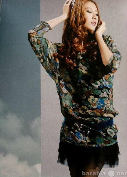 Продам Платье-туника из натурального креп-шифо