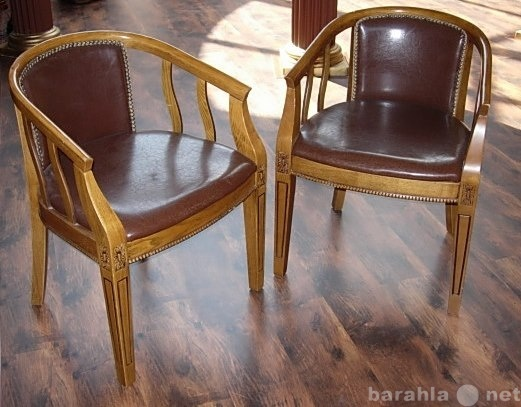 Продам столы, стулья с кожаным верхом