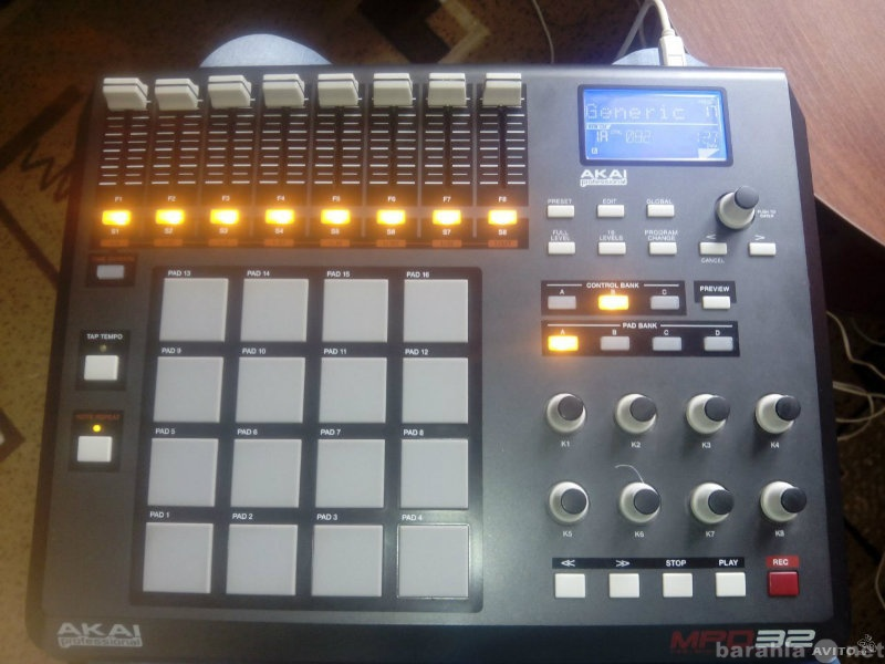 Продам Akai Pro MPD32