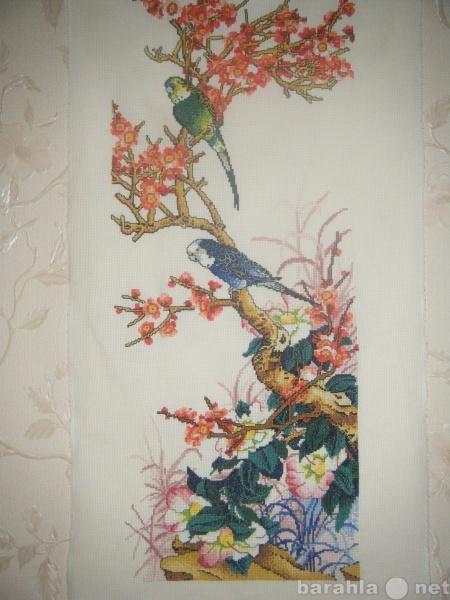 Продам вышитая картина в китайском стиле
