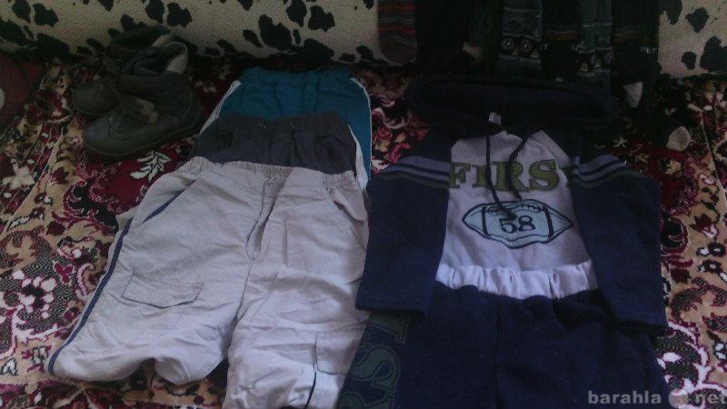 Продам мешок вещей на мальчика 3-5 лет