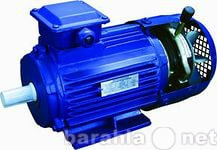 Продам электродвигатель с тормозом 5АИР 355 M8