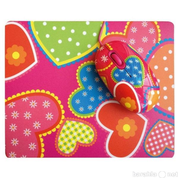 Продам мышь + коврик cbr candy