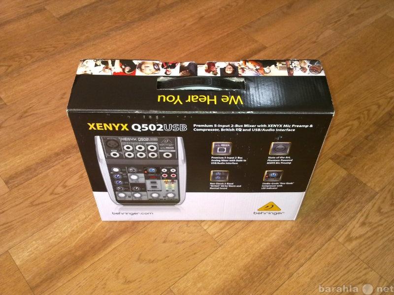 Продам пульт микшерный BEHRINGER XENYX Q502USB