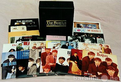 Продам The Beatles CD Singles Collection