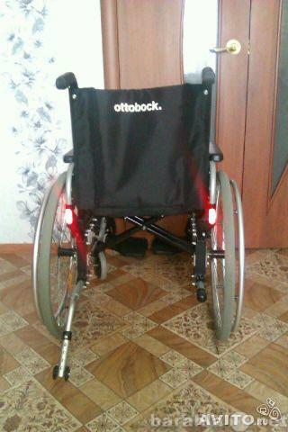 Продам новое инвалидное кресло с ручным приводо