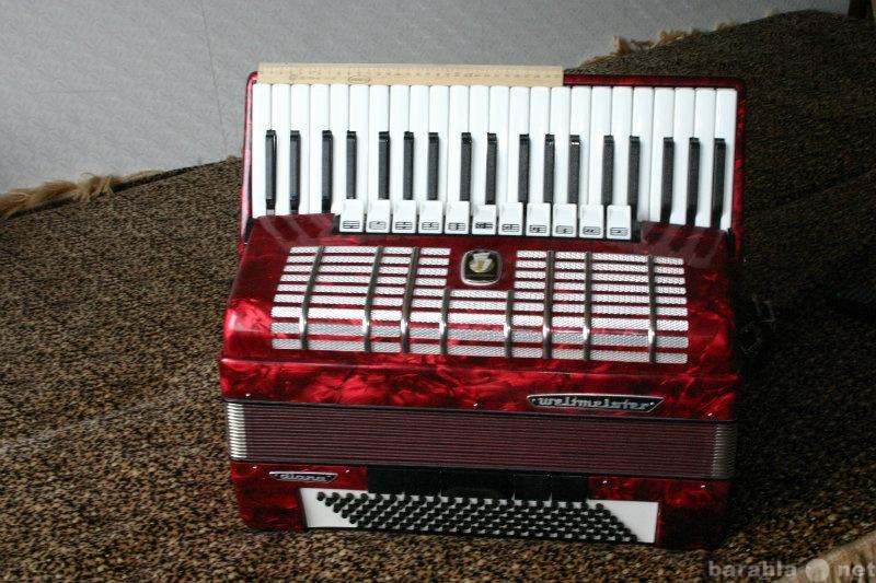 Продам: аккордеон Weltmester полный Диана