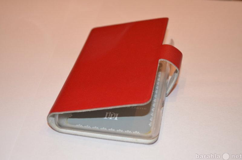 Продам кожаный чехол на Nokia Lumia 820 Red